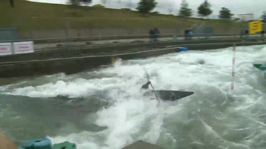 Boekelmann Paul - FINAL Run | 2015 ICF Canoe Slalom Ranking - Markkleeberg