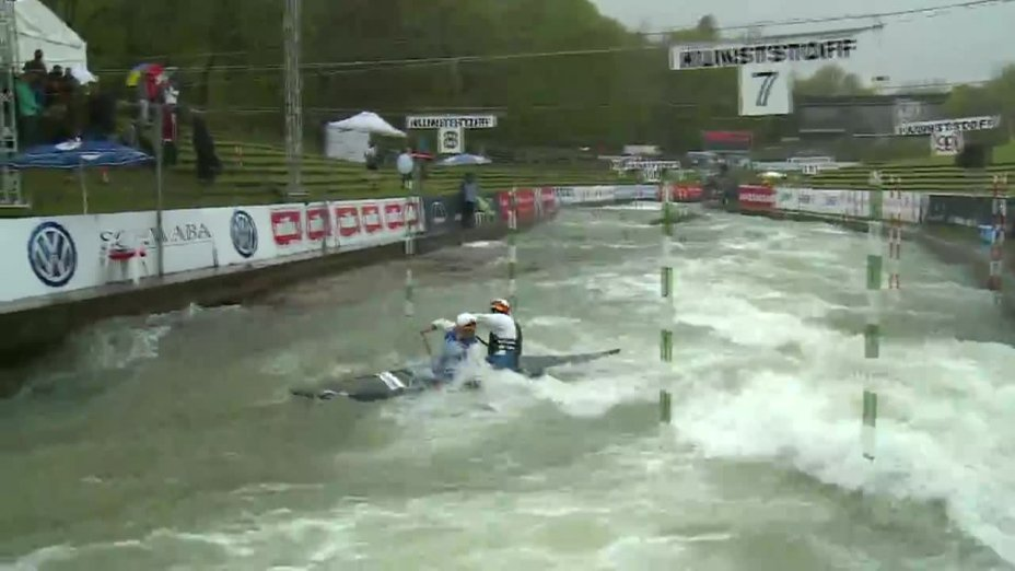 Behling / Becker - Quali 2015  Rennen 4 C2-Herren-Finale / Augsburg