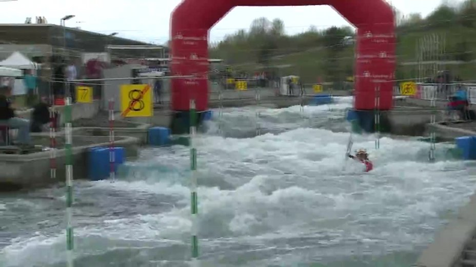 Jasmin Schornberg - Quali 2015 |Rennen 2|K1-Damen-Finale / Markkleeberg