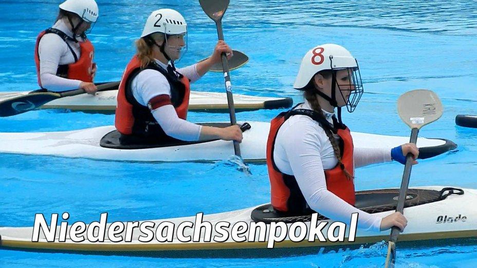 Kanupolo Niedersachsenpokal, Essen : Berlin, 6 : 2 , Finale Damen