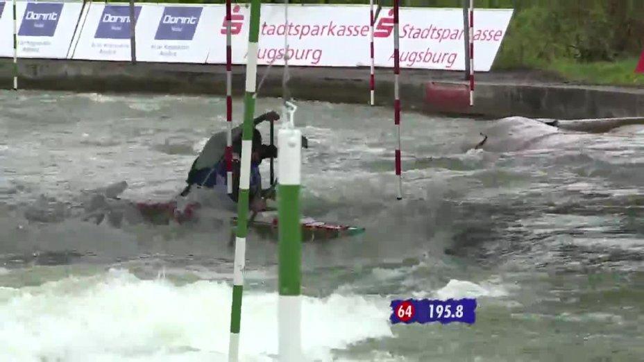 Finale 1 mit Kommentar von Peter Grube - Quali 2015  Rennen 3  Augsburg / 02.05.2015