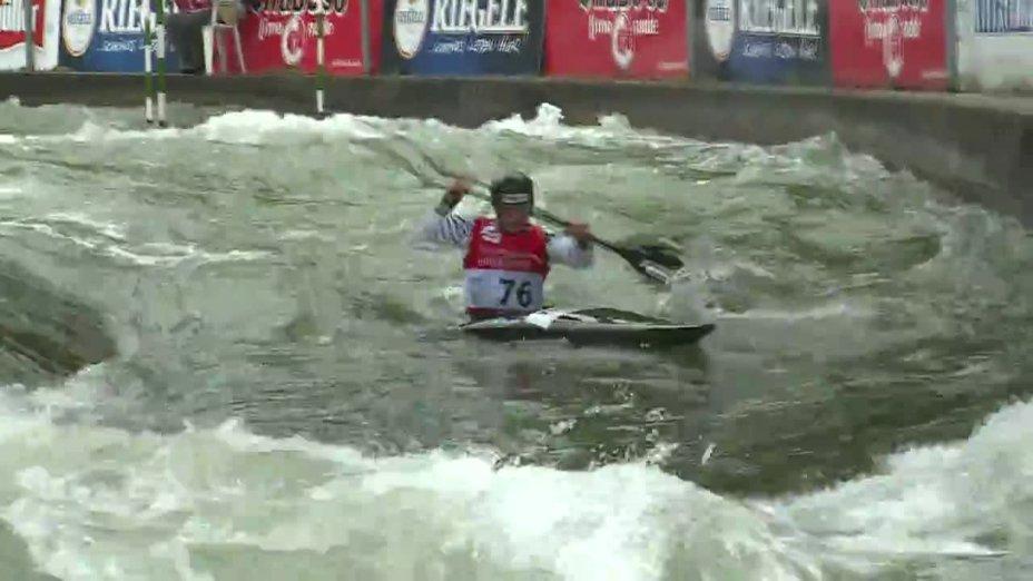 Jürgen Kraus - Quali 2015  Rennen 4 K1-Herren-Finale / Augsburg