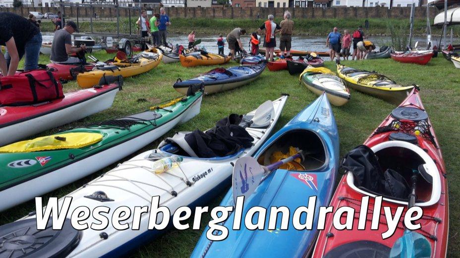 Weserberglandrallye von Rinteln-KC  bis  Kanu-Klub Minden