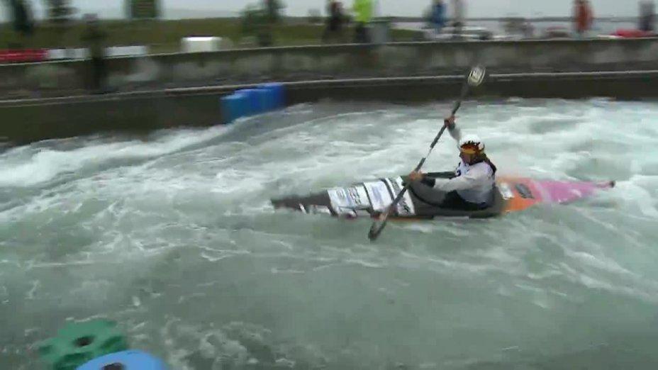 Funk Ricarda - FINAL Run | 2015 ICF Canoe Slalom Ranking - Markkleeberg