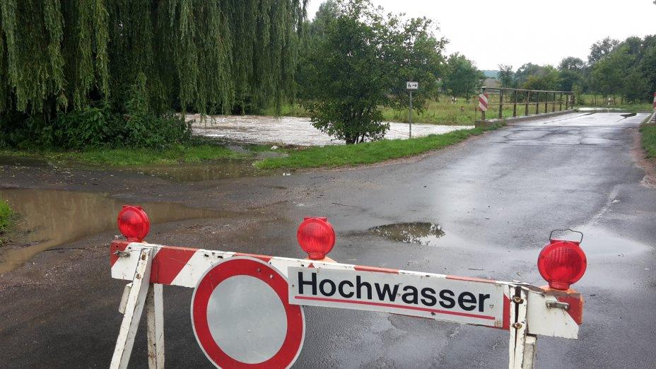 Hochwasser Leine, Göttingen