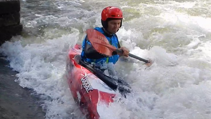 Wildwassertage in Sömmerda Slalomstrecke