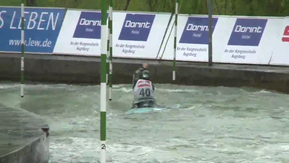 Lena Stöcklin - Quali 2015  Rennen 4 C1-Damen-Finale / Augsburg