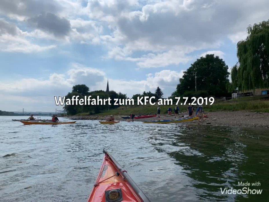 2017 Waffelfahrt nach Köln zum KFC