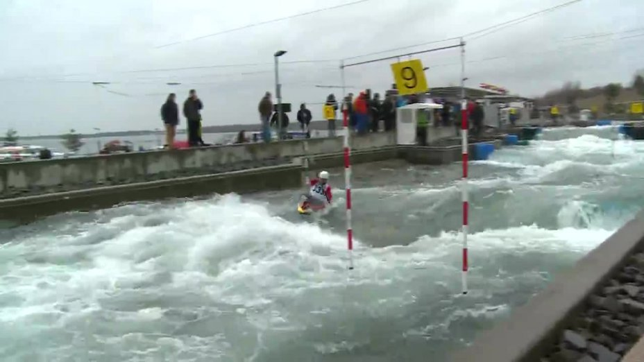 CHOURRAUT Maialen - FINAL Run | 2015 ICF Canoe Slalom Ranking - Markkleeberg