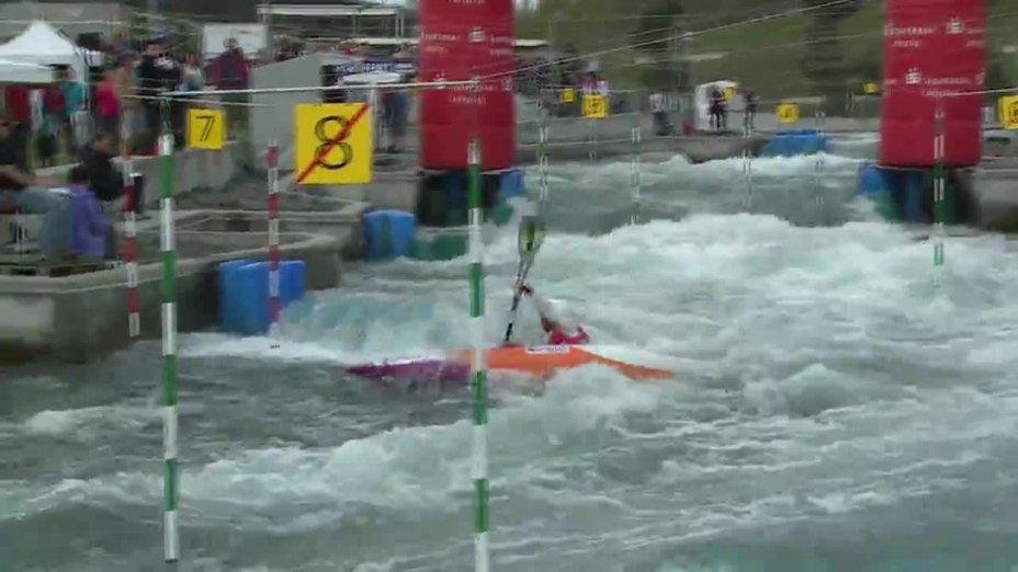 Fee Maxeiner - Quali 2015  Rennen 2 K1-Damen-Finale / Markkleeberg