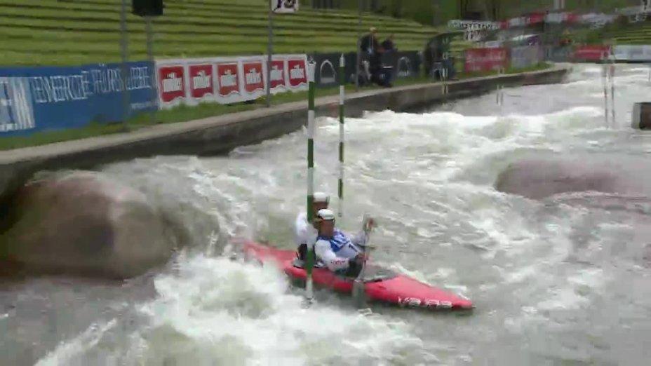 Anton / Benzien - Quali 2015  Rennen 3 C2-Herren-Finale / Augsburg