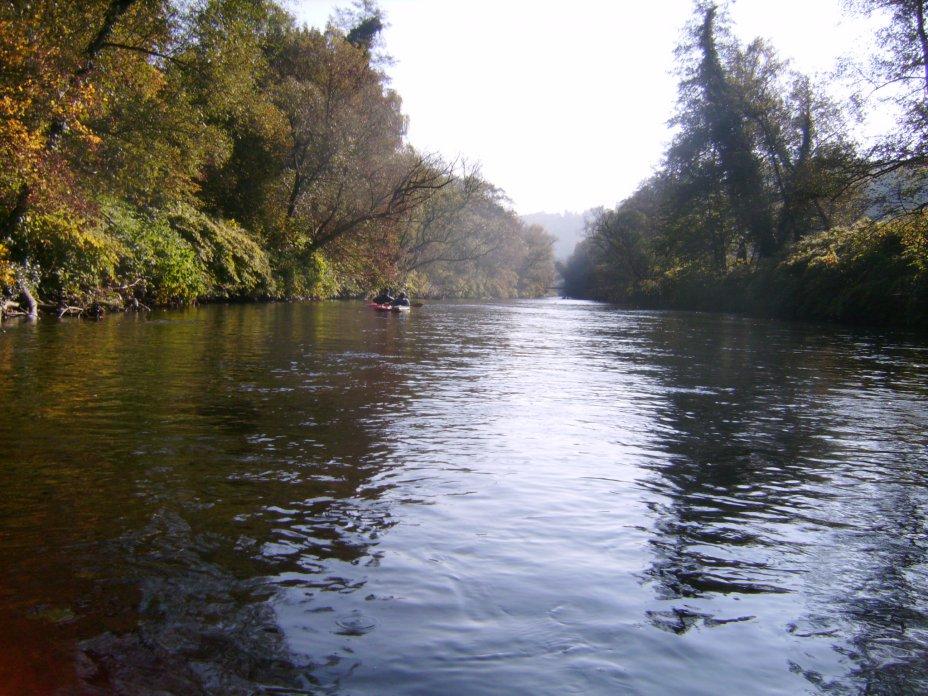 Herbstfahrt 2011 auf der Wupper