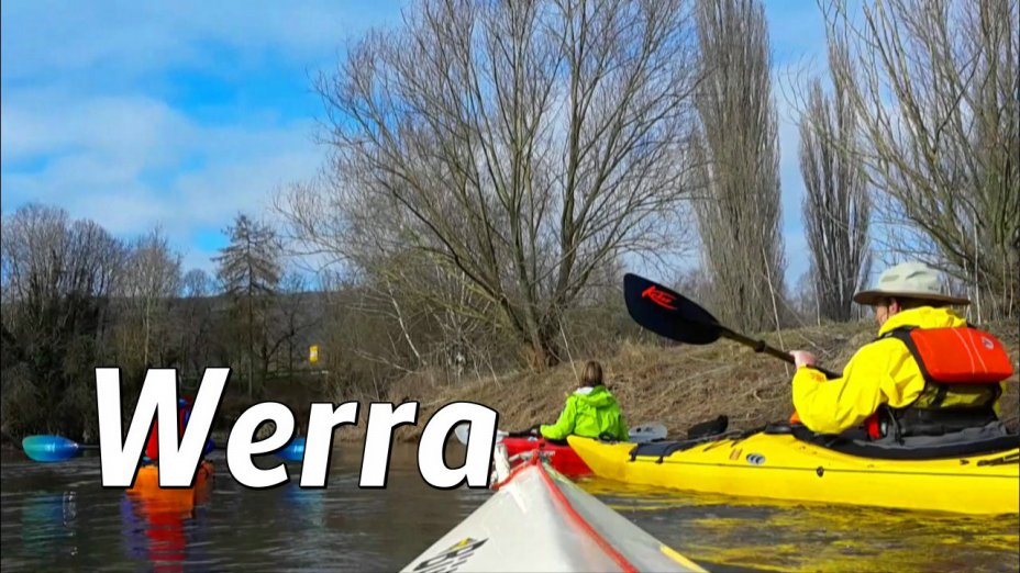 Werra im Frühling: Bad Sooden-Allendorf - Kanuclub Witzenhausen - Hedemünden.