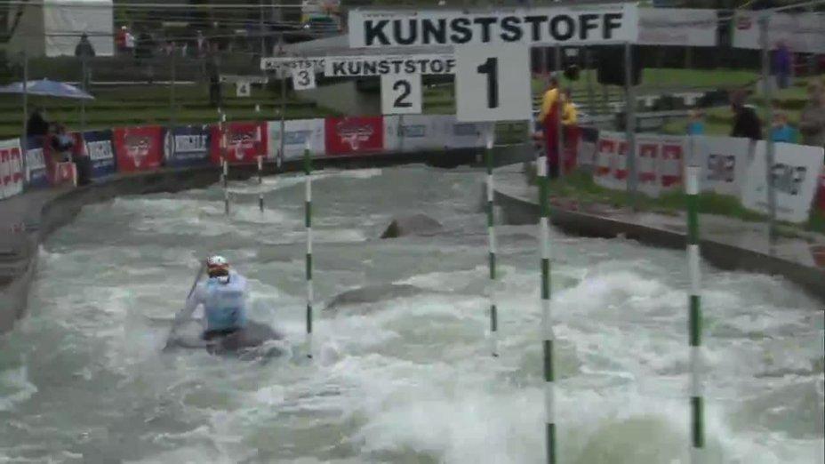 Frederick Pfeiffer - Quali 2015  Rennen 4 C1-Herren-Finale / Augsburg