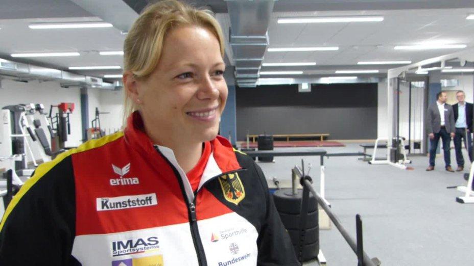 Olympiasiegerin Tina Dietze über die Neueröffnung des Bundesleistungszetrums in Duisburg