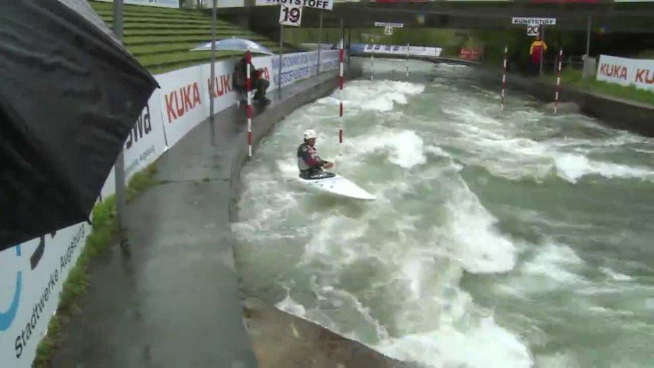 Karolin Wagner - Quali 2015 |Rennen 4|C1-Damen-Finale / Augsburg
