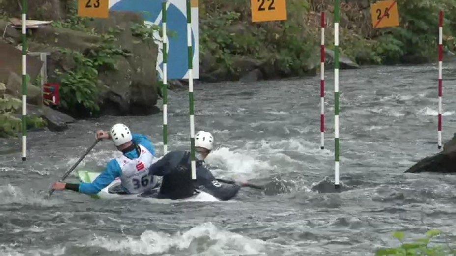 C2 männliche Jugend&Junioren - 1. Lauf - Länderpokal 2013 in Hohenlimburg